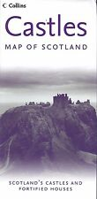 Map of Scotland's Castles & Fortified Houses, Scotland by Collins
