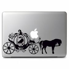 Cinderella Pumpkin Carriage for Macbook Air Pro Laptop Vinyl Decal Sticker
