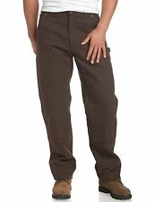 CARHARTT Mens PANTS 31 29 Brown SIZE Washed DUCK Double FRONT Work DUNGAREE Sz**