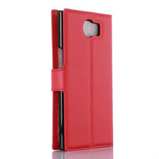 NEW Classic Luxury Flip Stand Case Card Holder Wallet Cover For BlackBerry Priv