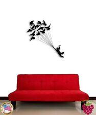 Wall Sticker Birds Flying Dream Cool Romantic Decor  z1339