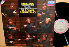 LONDON DIGITAL Sibelius ASHKENAZY Symphony No. 1 414 534-1 NM-