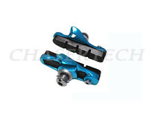 New Road Bicycle Bike Caliper Cartridge Brake Pads Shoes Blue 1 Pair