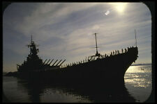 637013 Battleship Long Beach California A4 Photo Print