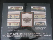 Harley-Davidson HD Big Twin Power 1995 Collector Edition HO Scale Electric Train