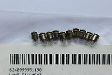 Pack 10 x 5v 60mA 0.3w 995 1198 T1 Sub Midget Flange Cap SX4s 3mm C-2R Bulbs