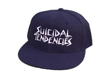 SUICIDAL TENDENCIES SNAPBACK HAT CAP - GENUINE NAVY NEW ST OG EMBROIDED THRASH