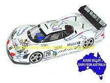 1:10 RC Clear Lexan Body Porsche 911 GT1 200mm Nitro or Electric Colt for Tamiya