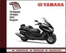Yamaha YP400(W) YP400A YP400 2007 Workshop Service Repair Manual