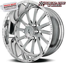 "AMERICAN FORCE BURNOUT SS6 MIRROR POLISH 22""x11 WHEELS RIMS 6 LUG (set of 4) NEW"