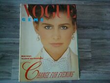 VOGUE GEMS / OCTOBER 1982