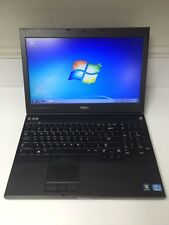 Dell Precision M4700 Laptop i7-3720QM 2.6Ghz 15.6 1080P 250GB/4GB/ NVidia