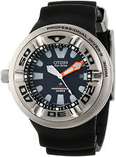 BJ8050-08E New Citizen Eco Drive Professional Diver Men' s Watch NEW IN BOX