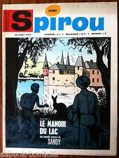 (C1)SPIROU N°1530 sans le mini-récit, sans le supplément Belge
