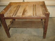 Antique Arts & Crafts Stickley Craftsman  #675 Library Table For Parts      7112