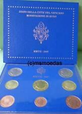 Vatikan Off. Euro Kursmünzensatz 2007 KMS 1 Cent bis 2 Euro Benedikt XVI.Blister