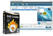 Leawo DVD Creator AVI MP4 WMV MKV HD to DVD Burner Converter 1080p NEW