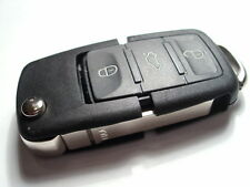 NEW 3 BUTTON FLIP REMOTE KEY FOB for VW POLO, GOLF 5, TOURAN, CADDY, 434Mhz