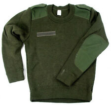 ORGINAL FRENCH FOREIGN LEGION ARMY JUMPER GREEN chest 34-35""