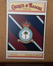 Royal Air force No 30 Squadron Crests & Badges of  the Armed services Postcard