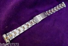 NOS 14mm Wenger Alpine Small Dual Time Bracelet Womens Stainless Watch Band