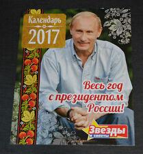 PUTIN WLADIMIR Wand Kalender 2017 Präsident RUSSLAND Neu President Original New