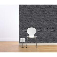 NEW MURIVA BLUFF SLATE PATTERN STONE BRICK FAUX EFFECT VINYL WALLPAPER J27609