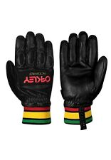 Mens Boys Oakley 0 Factory Pilot Winter Ski Snowboard Gloves Rasta Black XXS