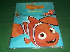 New Disney Pixar Finding Nemo Vinyl Shower Curtain