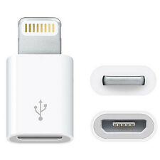 MX 2 pcs 5pin Micro USB to 8pin Lightning adapter for Apple iPad iPod iPhone