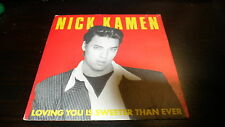NICK KAMEN - LOVING YOU IS SWEETER THAN EVER - SOLO COPERTINA - ONLY COVER