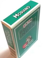 2 Decks MODIANO Plastic Playing Cards Poker Index Green