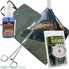 Unhooking MAT pesare Sling scale PINZE anti batterica SPRAY pesca carpa