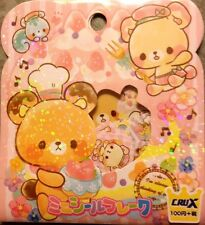 Kawaii CruX Sweets Pastel Sticker Flakes Sack 42 Stickers