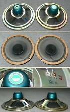 "Pair vintage 8"" AlNiCo fullrange speakers Magnavox 8ER"