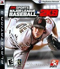 Major League Baseball 2K9 PS3! MLB, YANKEES, REDS, CUBS, GIANTS, TIGERS, RED SOX