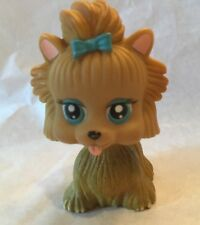 LITTLEST PET SHOP DOG PET DOGGY LPS BROWN BLUE BOW Stocking Stuffer