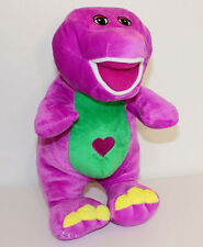 "11"" Purple Barney the Dinosaur Soft Plush Singing""I Love You"" Toy Doll"