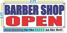 BARBER SHOP OPEN Banner Sign NEW Best Quality for the $$$