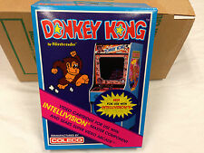 DONKEY KONG -- for INTELLIVISION Video Game System FRESH CASE --  NOS - NIB