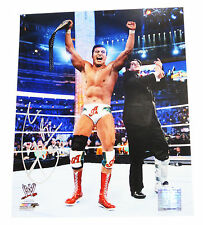 WWE ALBERTO DEL RIO HAND SIGNED 8X10 AUTOGRAPHED PHOTOFILE PHOTO WITH PROOF 1