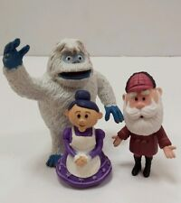 Lot Rudolph Island of Misfit Toys Skinny Santa Mrs Claus Bumbles PVC Figures