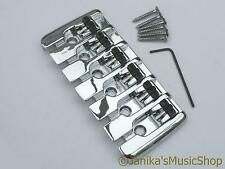 6 string electric bass guitar bridge professional quality heavy duty new