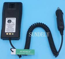 NNTN4496AR NNTN4851 Car Charger Battery Eliminator Motorola Radio CP140 CP040 UK