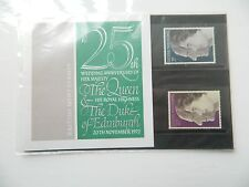 1972 25th WEDDING ANNIVERSARY THE QUEEN AND THE DUKE OF EDINBURGH PRES PACK MNH