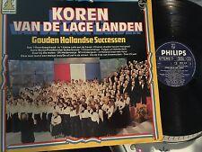 Koren Van De Lage Landed LP Gouden Hollandse Successen Holland press Philips