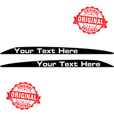 TOYOTA LANDCRUISER V8 PERSONALISED 76 70 78 79 SERIES BONNET HOOD STICKERS DECAL