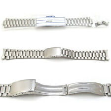 New SEIKO 7009 7S26 Watch Bracelet Strap ORIGINAL Band Stainless Steel 19mm S55M