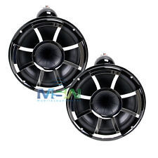 "WET SOUNDS REV8B-X 8"" REVOLUTION X CLAMP MARINE TOWER SPEAKERS BLACK REV-8-B-X"
