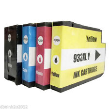 New Ink Cartridges for HP OfficeJet 6700 7110 w/ Chip 932XL 933XL 4 PACK